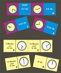 Uhrzeit - Domino
