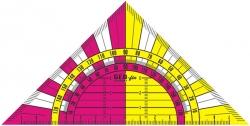 Anwendung Geodreieck Geo-fix