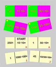 Mulitplikation und Division mit Z-H-T - Domino