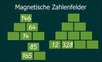 Magnetische Zahlenfelder (B-Ware)