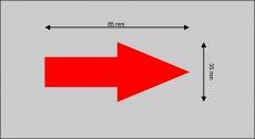 Magnetische Markierungspfeile, 10er-Set