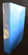 PVC-Ringbuch-Ordner DIN A4 mit Einsteckfächern - 5 Stück