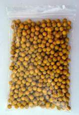 500 gelbe Holzkugeln, 8 mm