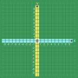 Magnethaftendes Koordinatensystem