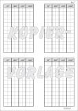 Kopiervorlage Stellentafel Flächenmaße m2 - dm2 - cm2 - mm2