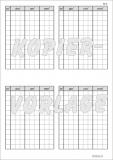 Kopiervorlage Stellentafel Raummaße m3 - dm3 - cm3 - mm3