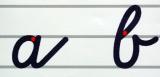 Schrifttafel Vereinfachte Ausgangsschrift